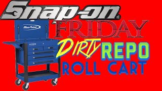 Snap On Friday Dirty Repo Toolbox and Pliers Rack