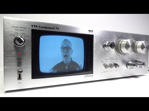 HiFi Component TV  What? and Why?