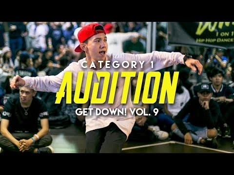 Category 1 Audition | Get Down! Vol. 9 | RPProductions