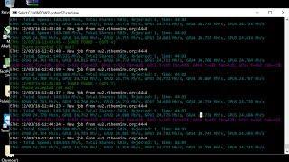 Claymore´s dual miner Ethereum 9.2 - RX 480 MSI 4GB undervolt - Nicehash