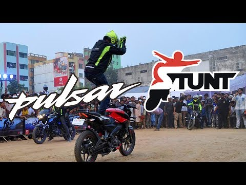 ਪਲਸਰ 180 ਸਟੰਟ - PULSAR BIKE STUNT 💪 WHEELIE/STOPPIE 💪 - 2019