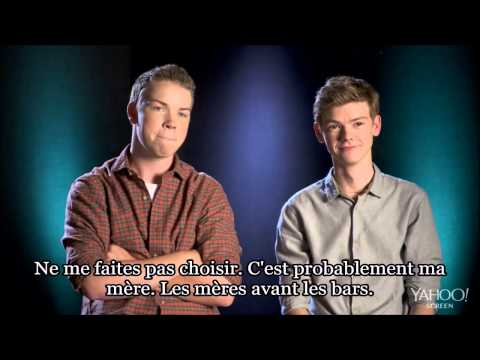 """""""Know your co-star"""" with Will Poulter and Thomas Brodie-Sangster VOSTFR - The Maze Runner France"""