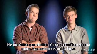 """Know your co-star"" with Will Poulter and Thomas Brodie-Sangster VOSTFR - The Maze Runner France"