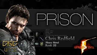 RE5 - Mercenaries Reunion Guide SS RANK Chris Heavy Metal - Prison [NARRADO]