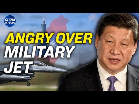 US military jet stops in Taiwan, China angry; Mike Pence: China becoming an 'evil empire'