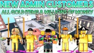 [Roblox] Cash Grab Simulator: NUOVO ADMIN CUSTOMER (TUTTI gli oggetti d'oro e MILIONI DI MONEY)