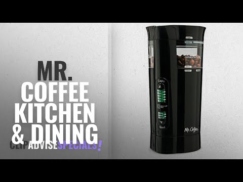 10 Best Selling Mr. Coffee Kitchen & Dining [2018 ]: Mr. Coffee 12 Cup Electric Coffee Grinder with