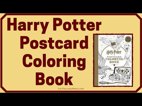 harry-potter-postcard-coloring-book-#1
