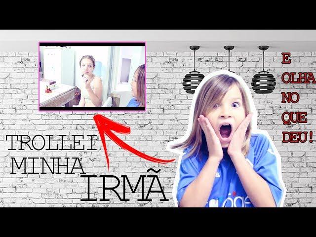 TROLLEI A MINHA IRMÃ E OLHA NO QUE DEU! - Aris.TV, Ep. 81