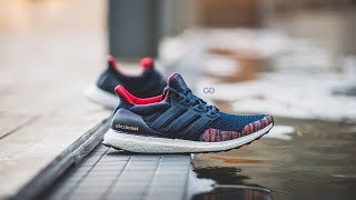 "Adidas Ultra Boost 1.0 Ltd ""navy / Multi-colour"": Review & On-feet"