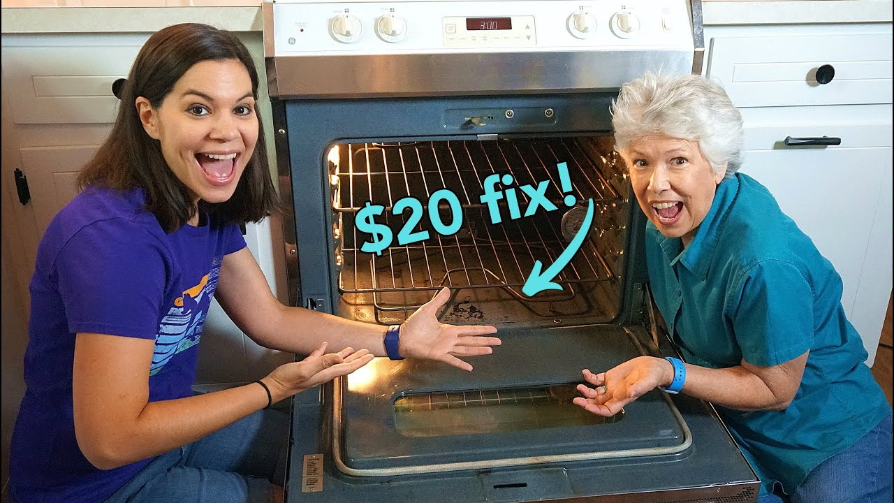How to Replace a Drop-In Oven Bake Element