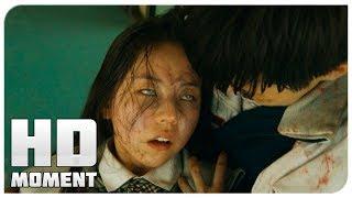 Смерть Джин Хи и Ён Гука - Поезд в Пусан (2016) - Момент из фильма