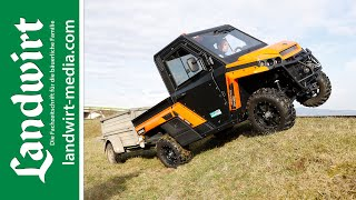 Test: UTV Corvus Terrain DX4 | landwirt-media.com