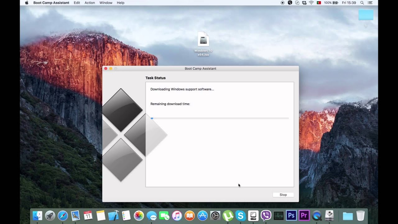 install windows bootcamp el capitan