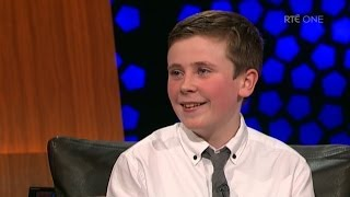 'Moone Boy' star David Rawle gets some words of advice from Chris O'Dowd | The Late Late Show