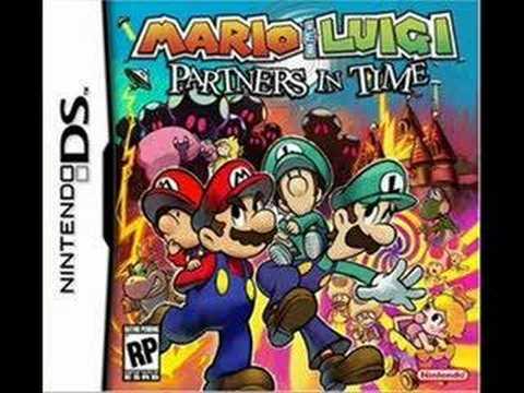 Mario Luigi Partners In Time Music Princess Shroob Battle