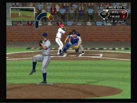 Braves Chuck James No-Hitter (MLB 07: The show) *Part 4*
