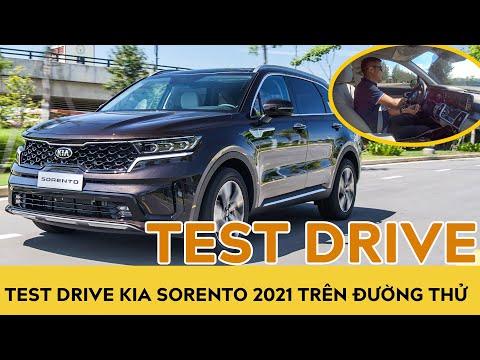 Test Drive Kia Sorento 2021 trên đường thử nhà máy THACO | Autodaily