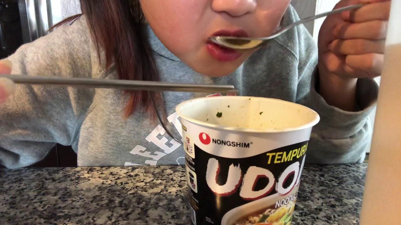 ASMR|| Instant noodles upon eating (EXTREME SLURPING ...
