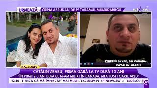 Catalin Arabu, prima oara la TV dupa 10 ani! &quotM-am specializat in amenajari interioare ...