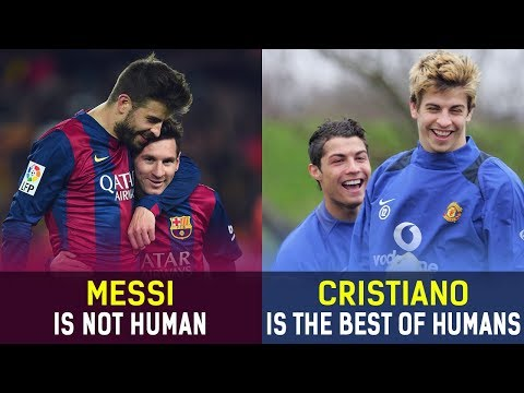 12 Players Who Played With Both Messi and Ronaldo