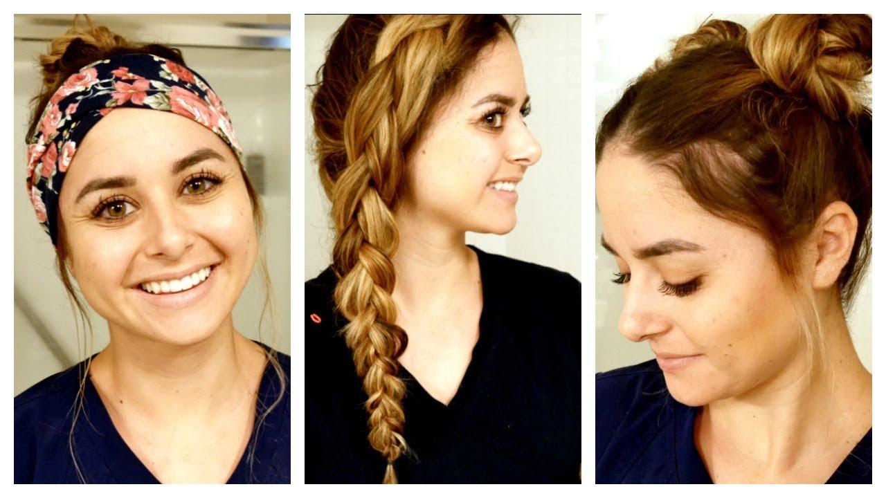 realistic nursing hairstyles