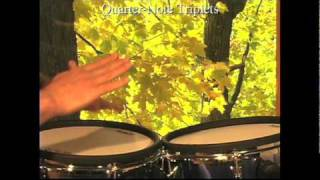 Learn to solo on djembe or conga: video lessons as downloads(These are sample clips from video lessons on how to solo on djembe or conga available at http://www.dancinghands.com. The lessons are systematic and go ..., 2010-07-02T21:27:03.000Z)