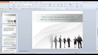 IEEE 2014 NS2 VSPN VANET BASED SECURE AND PRIVACY PRESERVING NAVIGATION docx