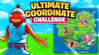 the ULTIMATE coordinates challenge...