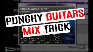 My API 2500 punchy guitars trick - Enhance attack and add impact to your guitars