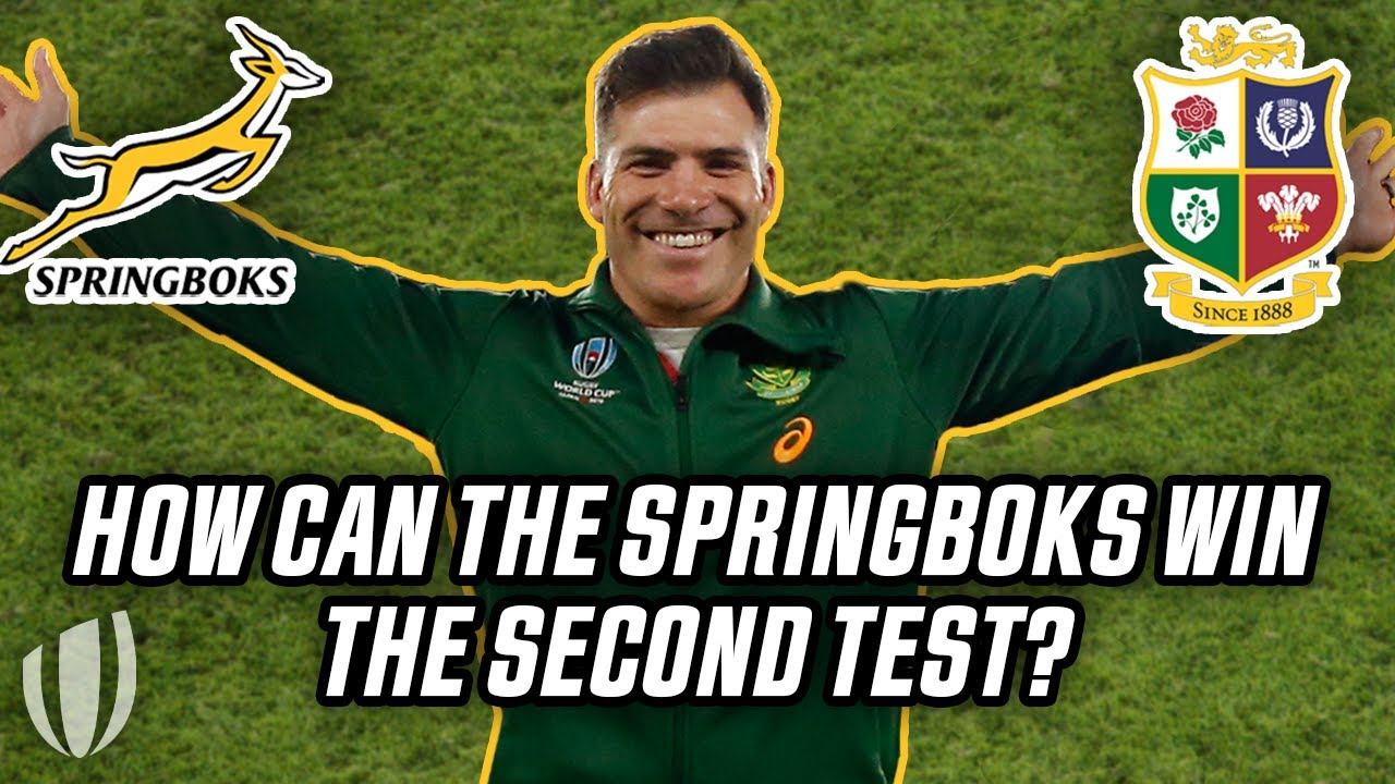 Schalk Brits reveals what the Springboks need to change for the second Lions test