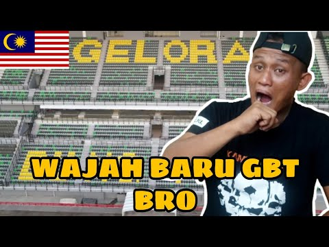 perubahan Stadium Gelora Bung Tomo / Malaysia Reaction