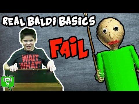 REAL BALDI BASICS Math Game on HobbyFamilyGaming