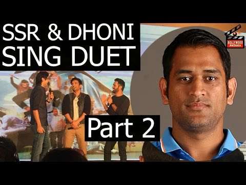MS Dhoni SSR  Sing  song play music game...