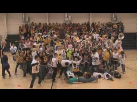 Harlem Shake - whole school! - Santa Fe South Middle School