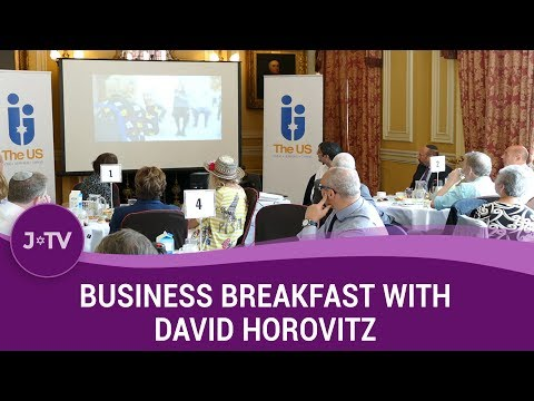 Highlights: US Business Breakfast with David Horovitz (Times of Israel Editor)