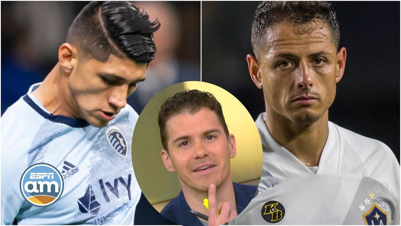 Alan Pulido LA ROMPE en la MLS; Sergio habla de 'COMPLOT' ante Chicharito en el LA Galaxy   ESPN AM