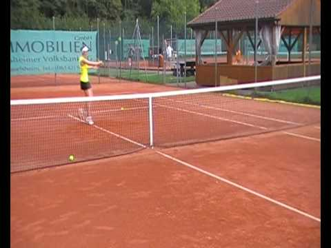Laura Nowak / Tennis Recruiting Video 2