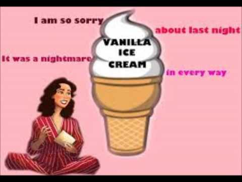 Vanilla Ice Cream KARAOKE