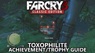 Far Cry 3 Classic - Toxophilite Achievement/Trophy Guide - Kill a target at 70m or more with the bow