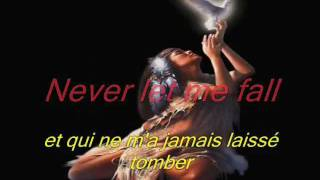 celine dion - because you loved me lyrics et traduction
