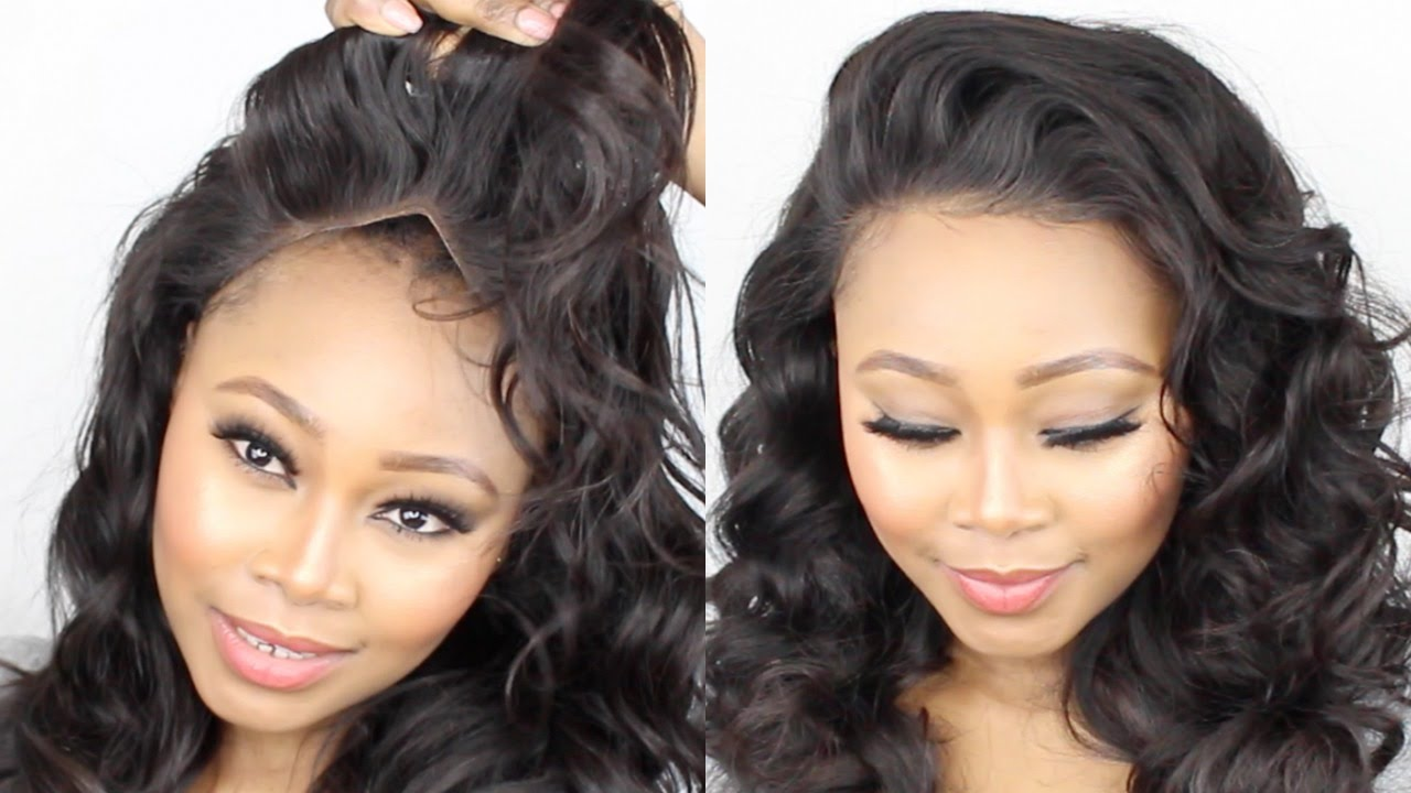 How To Make A Lace Frontal Wig Tutorial Start To Finish
