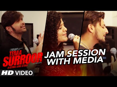 Teraa Surroor JAM SESSION With Media | HIMESH RESHAMMIYA, DARSHAN RAVAL & PALAK MUCHHAL | T-Series