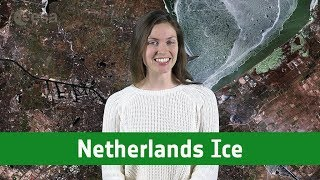Earth from Space: Netherlands ice