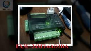 Board PLC Mitsubishi FX3U-24MT-6AD2DA