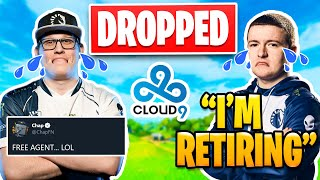 Chap and Vivid Dropped by Cloud 9 | Vivid So Upset He Retires?