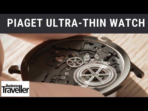 Piaget Ultra Thin Watch - Business Traveller
