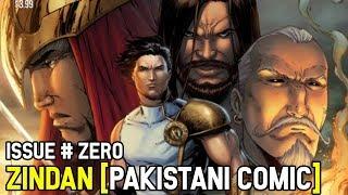 Zindan:The Last Ansaars Comic Issue #0 [Pakistani Comic]