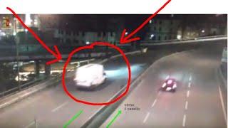 Incidente Stradale Mortale in Autostrada Contromano a Genova