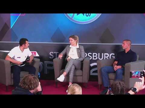 Динара Сафина и Михаил Южный Open Talk ATP St.Petersburg Open